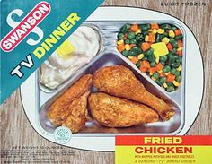 I ate a lot of these TV dinners. Who decided that those awful mixed vegetables should be included instead of those tasty apple desserts?