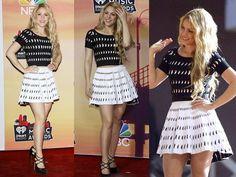 #Shakira #Fashion In Azzedine Alaia At #iHeartRadioMusicAwards