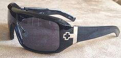Spy Optic Sunglasses  (Men's Pre-owned Haymaker Sun Glasses, Black)