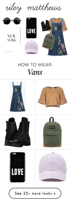 """""""Riley Matthews: Girl Meets World"""" by emgib on Polyvore featuring The Fifth Label, Alexander McQueen, Capezio, JanSport, Givenchy and Vans"""