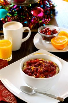 cranberry orange steel cut oats