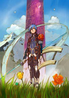 Phantasy Star Online 2 by martinhoulden on DeviantArt Character Creation, Character Art, Character Outfits, Character Design, Phantasy Star Online 2, Fantasy Star, Game Concept, Concept Art, Video Game Art