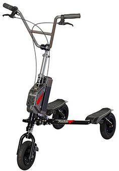 Trikke Freedom V Handlebar Cruiser Black with 36V BatteryCharger Scooter >>> You can get additional details at the image link. Electric Power, Electric Scooter, Kick Scooter, 3rd Wheel, Tricycle, Outdoor Gear, Outdoor Power Equipment, Charger, Transportation