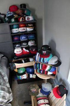 Snapbacks back---. I wish I had this collection