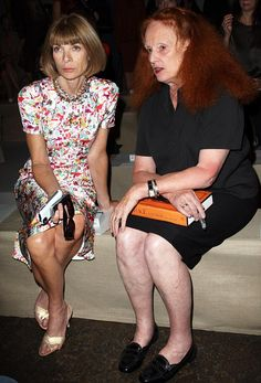 Ana Wintour's little piggy has fallen out of her shoesey...!!!