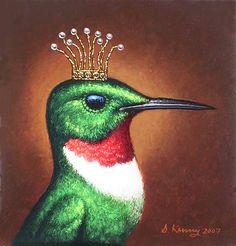 Steven Kenny | OIL | Royal Hummingbird