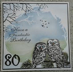 Mitch s owl card