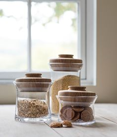 What better way to beat winter's lingering chill than by pressing forth with spring cleaning? Discover New Bristol Canisters Kitchen Canisters, Kitchen Dishes, Kitchen Items, Home Decor Kitchen, Clear Coffee Mugs, Temple Design For Home, Minimal Kitchen, Foyer Design, Kitchen Tools And Gadgets
