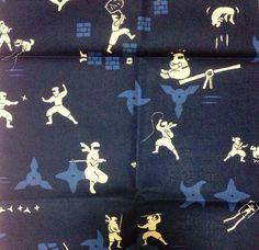 Furoshiki, Ninja furoshiki, wrapping cloth, Japanese fabric, japanese tapestry, Wall Hanging, furoshiki gift on Etsy, ¥712.77