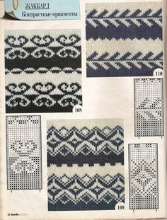 """Photo from album """"Schemes for Toyota"""" on – knitting charts Tapestry Crochet Patterns, Fair Isle Knitting Patterns, Knitting Machine Patterns, Knitting Charts, Loom Knitting, Knitting Stitches, Knitting Designs, Knitting Socks, Knit Patterns"""