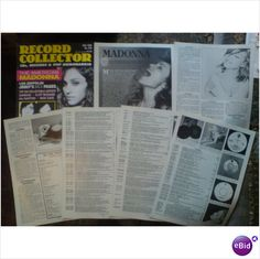 Madonna. Americas first lady 11 page feature + cover Record Collector magazine