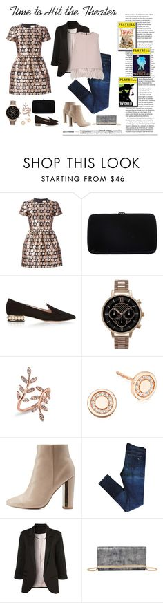 """""""What to Wear during NYC Broadway Week"""" by stylisticreaction ❤ liked on Polyvore featuring RED Valentino, Sergio Rossi, Nicholas Kirkwood, Olivia Burton, Astley Clarke, Qupid, rag & bone, Jimmy Choo and The 2nd Skin Co."""