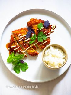 Vištienos šniceliai su wasabi – Nidos receptai Ethnic Recipes, Food, Eten, Meals, Diet