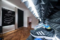 Together with Sam Handy, Design Director of adidas Originals, and Torben Schumacher, the division's Business Unit Director, the Trefoil brand opened special preview exhibition for the adidas Originals ZX FLUX Gallery last evening at Berlin's trendy Mitte neighborhood. By re-imagining one of its most popular footwear line, …