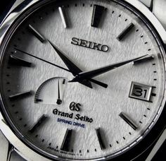 "Grand Seiko ""snowflake"" one of my grail watches"