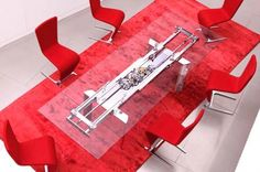 Extendable Dining Table by Roche Bobois – Astrolab Photo -- dining room