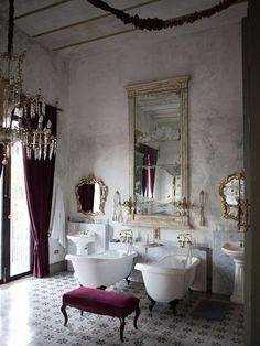 his and hers #bathroom