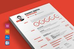Resume 2 by ikono.me on @creativemarket