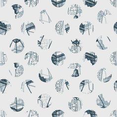 Louise Richardson Surface Design & Textiles. Polka Visualisation