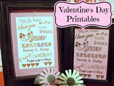 Valentine's Day Printable @ Texas Crafty Kitchen
