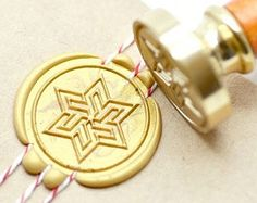 B20 Wax Seal Stamp Hexagram Star
