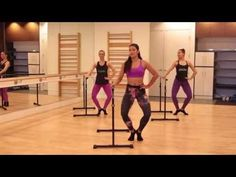 BarreConcept - the hot new barre workout spreading the globe. This 20 minute BarreConcept workout will tone the thighs, lift your butt, sculpt your arms and . Ballet Barre Workout, Cardio Barre, Pilates Workout Videos, Home Workout Videos, Barre Fitness, Fitness Abs, Pilates Classes, Woman Fitness, Easy Fitness