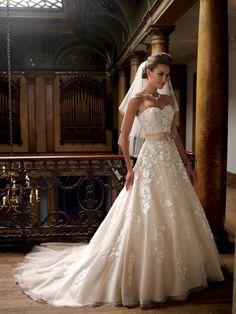 David tutera for mon cheri. Plus i just love david tutera Mon Cheri Wedding Dresses, Pink Wedding Gowns, Wedding Dress Styles, Wedding Attire, Bridal Dresses, Dream Wedding Dresses, Tulle Wedding, Wedding Bride, Prom Dresses