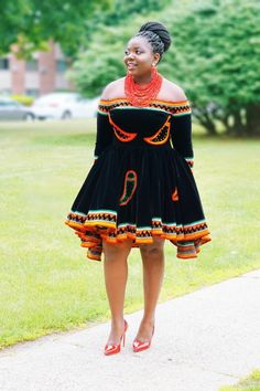 Best African Dresses, Latest African Fashion Dresses, African Print Fashion, African Attire, African Wear, Xhosa Attire, African Shop, African Style, South African Traditional Dresses