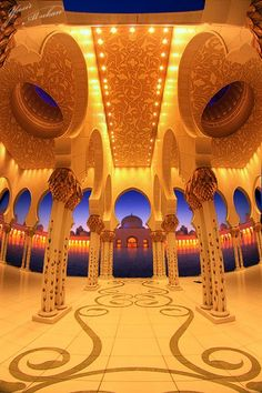 Fame Dubai Home - FameDubai Magazine Unusual Buildings, Beautiful Buildings, Islamic Architecture, Art And Architecture, Dubai Houses, Moslem, Build Your House, Beautiful Places To Travel, Amazing Places