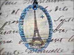 Paris Eiffel Tower Vintage French by PaperHarlequin on Etsy, $4.25 Tres bon!