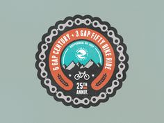 Cycle North Georgia Badge version 1 by Frank Rodriguez