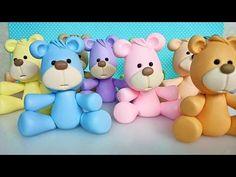 Como fazer Ursinhos Fofinhos passo a passo no Faça você mesmo - YouTube