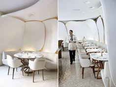 Camélia restaurant designed by Jouin Manku Studio.