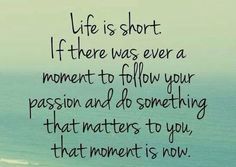 Facebook : life is short quote