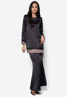 High Neck Dress, Feminine, Traditional, Simple, Long Sleeve, Model, Sleeves, Check, How To Wear
