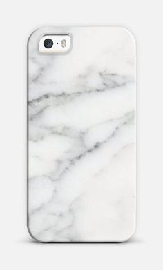 White marble cell phone case... if only they made it for Samsung phones...