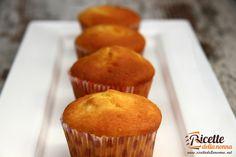 Muffin allo yogurt, facilissimi e buonissimi!