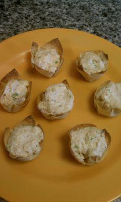 Crab Rangoon Bites... my kinda perfect: sunday yumday!