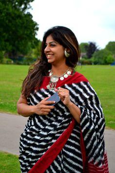 #Ikat #Telia #Rumal #Cotton #Handwoven #Handloom #Saree / by TheFarEastArtStudio