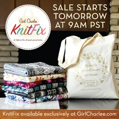Set your clocks! The Girl Charlee KnitFix Sale launches tomorrow, December 9th, at 9:00 AM PST. KnitFix is first come first serve and sure to sell out fast so shop early and secure yours ::