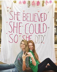 """""""She believed she could, so she did!"""" Kappa Delta Girl Scout Event"""