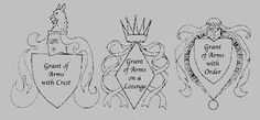 Caid Scribes - Scroll Texts - Grant of Arms