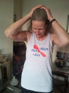 Ctrl+Alz+Shift's fashion contribution to Sunday's #Manchester10K. #FineWithAlzheimers