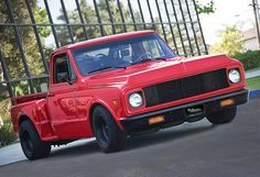 1972 #Red Hot Chevy Truck