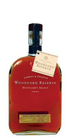 Woodford Reserve. They say it is Official Bourbon of the Kentucky Derby. I don't normally buy it. It was a gift.