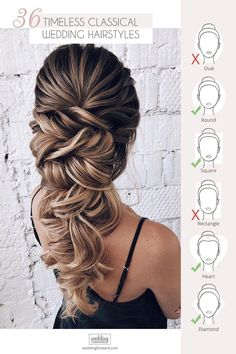 36 Timeless Classical Wedding Hairstyles Wedding Forward is part of Best wedding hairstyles - If you still can't choose hairstyle for your big day, please check out our gallery with classical wedding hairstyles Check out our gallery and enjoy! Wedding Hairstyle Images, Best Wedding Hairstyles, Bride Hairstyles, Hairstyle Ideas, Hairstyle Tutorials, Classic Hairstyles, Wedding Hairstyles Tutorial, Funky Hairstyles, Everyday Hairstyles