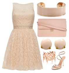 """""""💎Peach💎"""" by lexi-loves-fashion ❤ liked on Polyvore featuring Quiz, Henry Dunay, Marc by Marc Jacobs, ZALORA, Kurt Geiger and Paloma Picasso"""