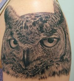 owl tatoo designs | All Tattoo Comununity 2010: owl tattoo art design