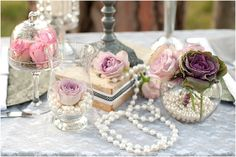 kombuistee idees - Google Search Maid Of Honor, Tea, Table Decorations, Roses, Pearls, Weddings, Google Search, Kitchen, Home Decor