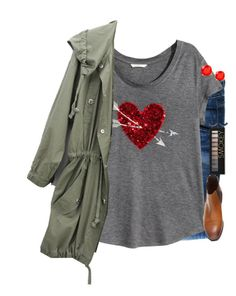 """""""If love was a storybook, we'd meet on the first page."""" by mac-moses ❤ liked on Polyvore featuring Hudson Jeans, H&M, Kate Spade and Forever 21"""